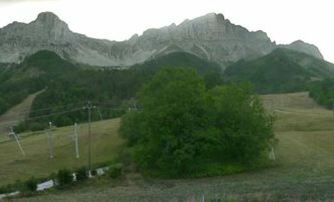 Gresse en Vercors webcam