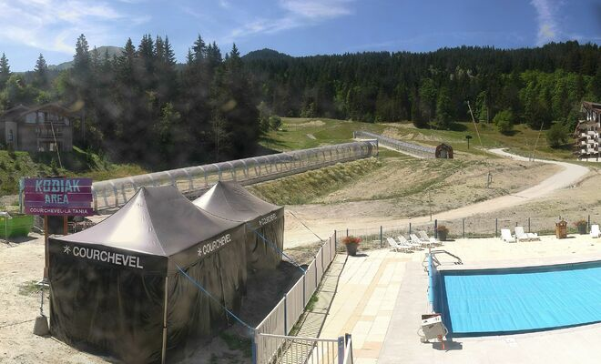Courchevel - La Tania webcam